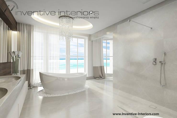 Salon kąpielowy: styl , w kategorii Łazienka zaprojektowany przez Inventive Interiors,Klasyczny Marmur