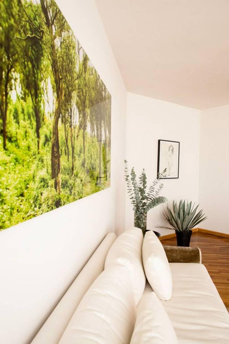 INTERIOR CASA EN POLANCO: Salas de estilo  por MaisonList