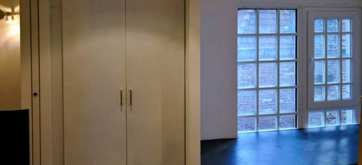 Un niveau et un demi – Lille:  de style  par Tristan Bacro Design d'Espace,