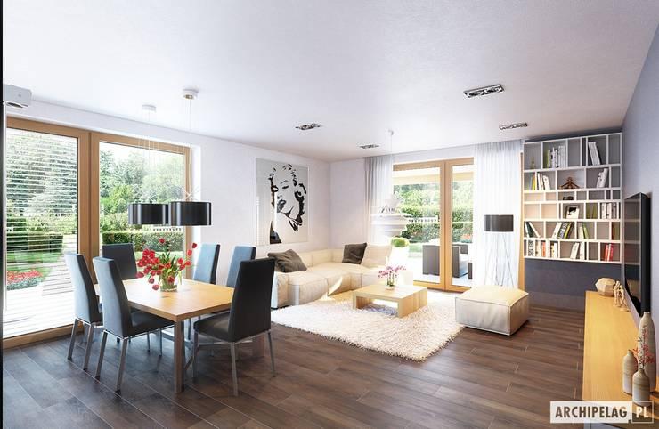 Salon de style de style Moderne par Pracownia Projektowa ARCHIPELAG