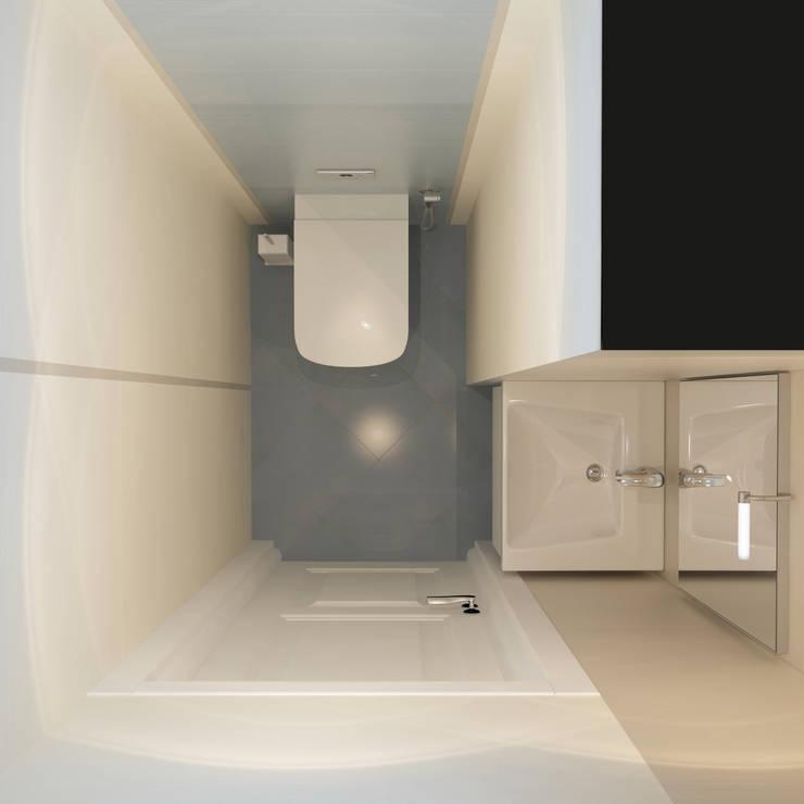 minimalistic Bathroom by Alyona Musina
