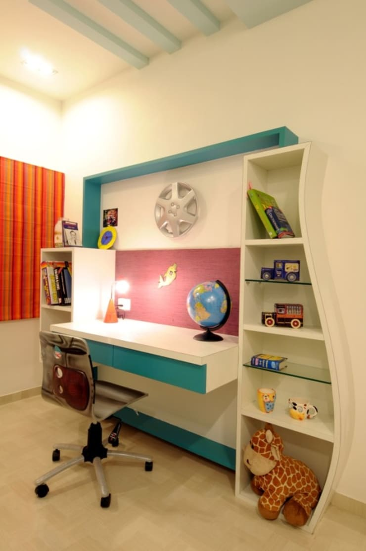 CONTEMPORARY LIVING:  Nursery/kid's room by Archana Shah & Associates