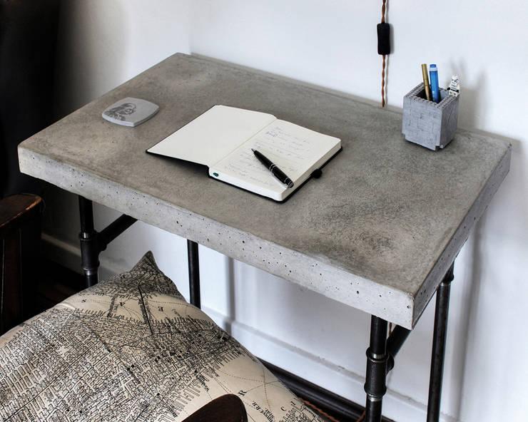 Fabulous Mini Beton Schreibtisch von Concrete Jungle | Betonmanufaktur | homify UF85