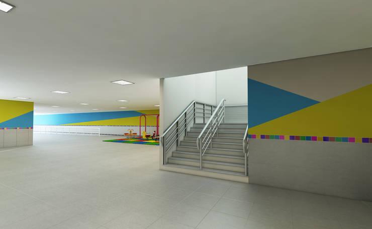 Escola Adventista Infantil São Luis do Maranhão, Brasil.:   por Marcelo Brasil Arquitetura