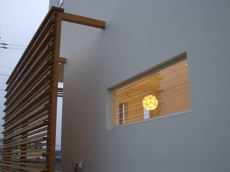Oficinas y Tiendas de estilo  por n.Design一級建築士事務所
