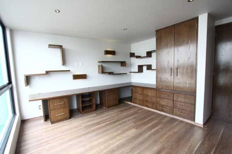 Casa Coyoacán Monserrat: Cocinas de estilo  por ARQUITECTURA SOSTENIBLE