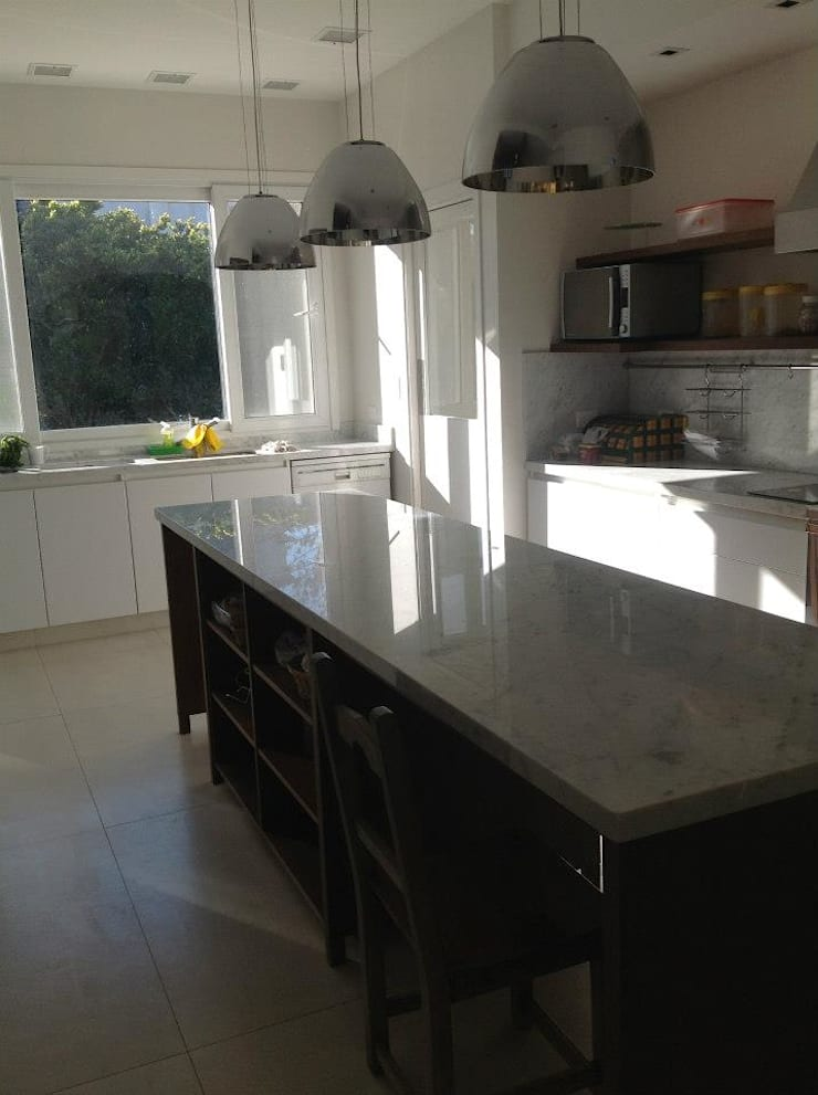 Diseño interior - Martindale: Cocinas de estilo  por ARQ MARINA LERA,Moderno