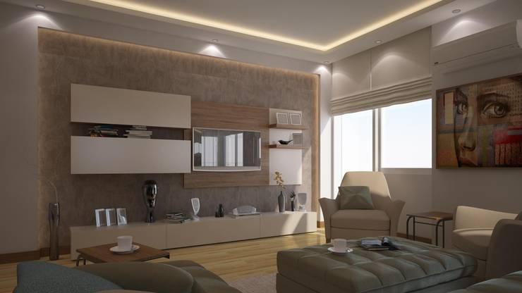 RUBA Tasarım – salon: modern tarz Oturma Odası