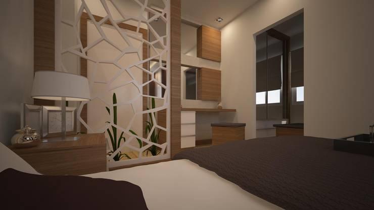 RUBA Tasarım – yatak odası: modern tarz , Modern