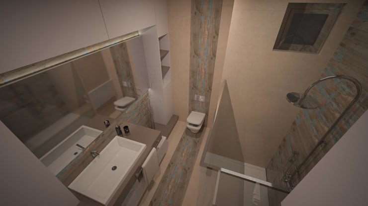 RUBA Tasarım – banyo: modern tarz Banyo