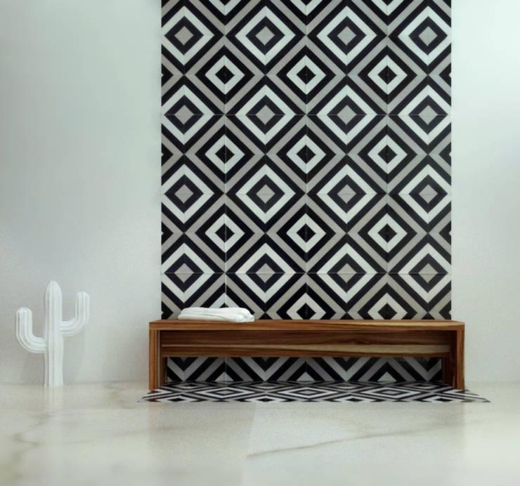 Baño en silencio: Baños de estilo  por SIMPLE actitud
