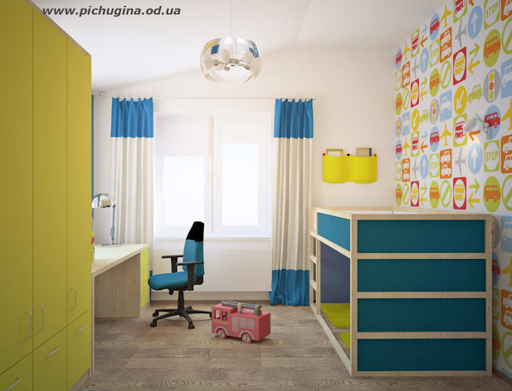 Tatyana Pichugina Design의  아이방