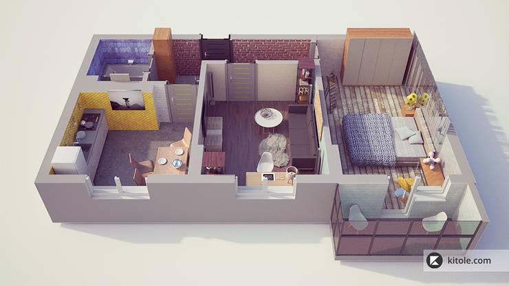 Моделирование планов в 3D:  в . Автор – Kitole