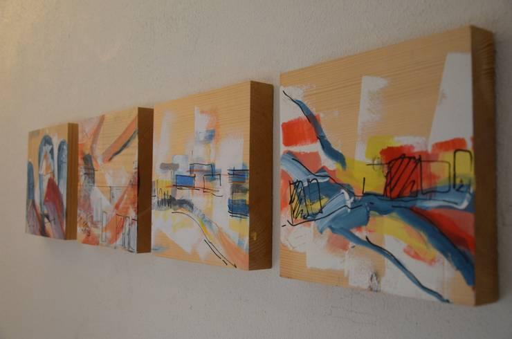 de estilo  por Ontwerpbureau Op den Kamp, Moderno Madera Acabado en madera