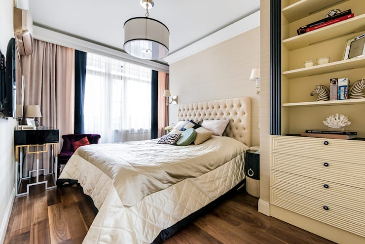 Chambre moderne par Tony House Interior Design & Decoration Moderne