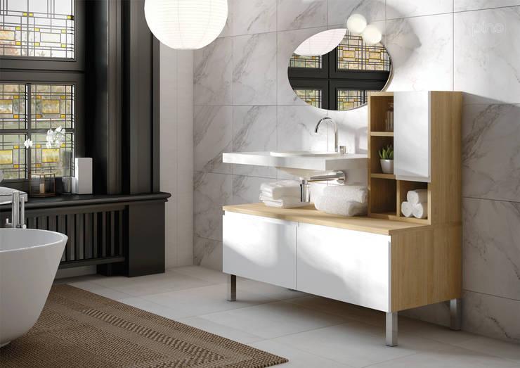 modern Bathroom by PINO Cocinas y Baños