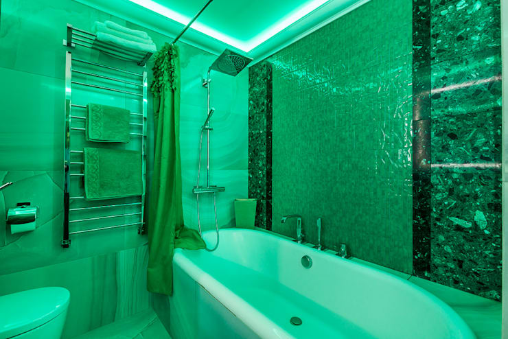 Salle de bain moderne par Tony House Interior Design & Decoration Moderne
