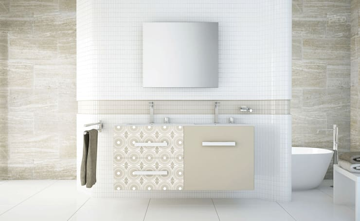 Baños de estilo moderno por PINO Cocinas y Baños