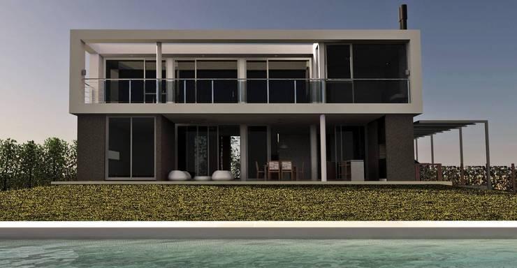 modern Houses by Estudio Maraude Arquitectos
