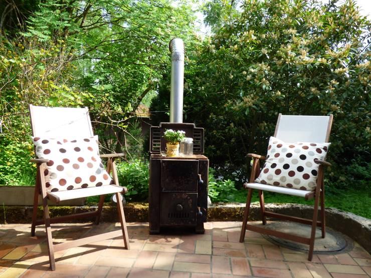 Ferienhaus:  Terrasse von Birgit Hahn Home Staging