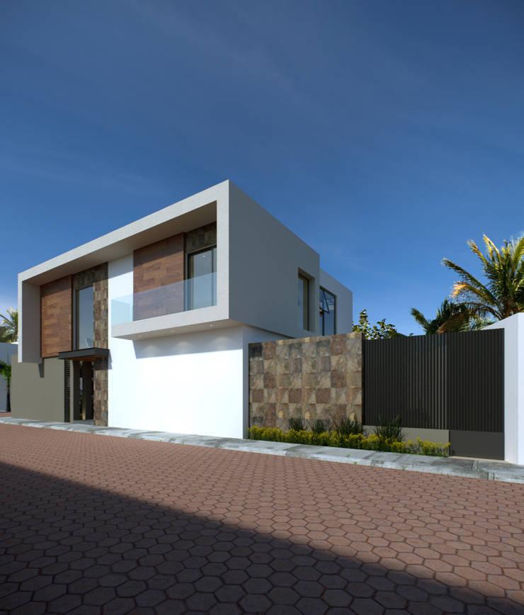 Minimalist house by GYVA Studio Minimalist