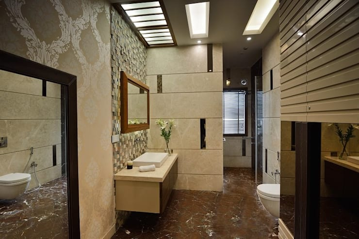 Modern bathroom by Spaces Architects@ka Modern