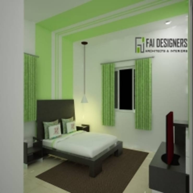 Interior designs:  Bedroom by Faidesgners,Modern