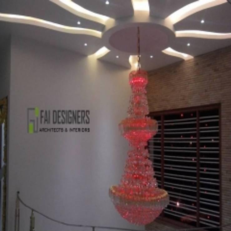 Interior designs:  Corridor & hallway by Faidesgners,Modern