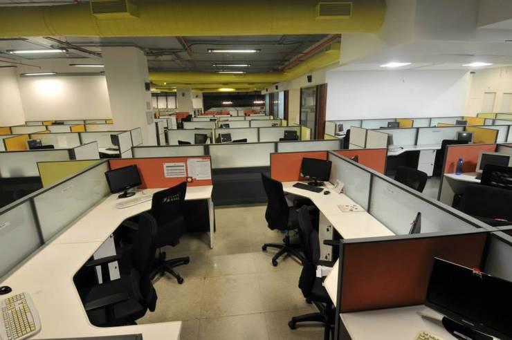 Aranca Mumbai Pvt.Ltd.:  Study/office by 3D Architecture Pvt.Ltd.,Modern