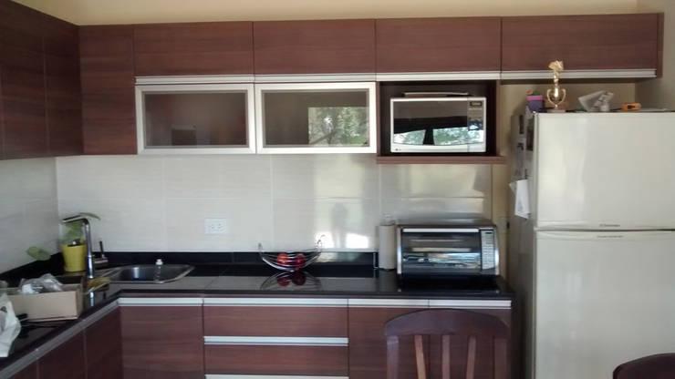 MENDIOLAZA – Centro: Cocinas de estilo  por BULLK Aruitectura y construcción