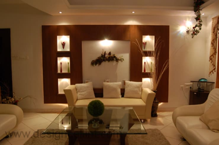LIVING ROOMS:  Living room by Design Cell Int