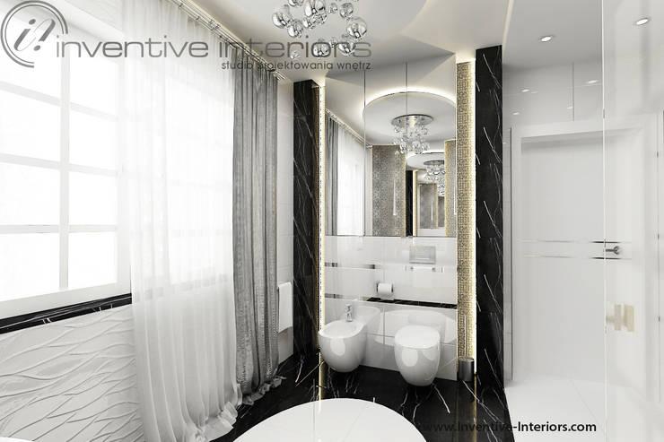 Luksusowa łazienka: styl , w kategorii Łazienka zaprojektowany przez Inventive Interiors