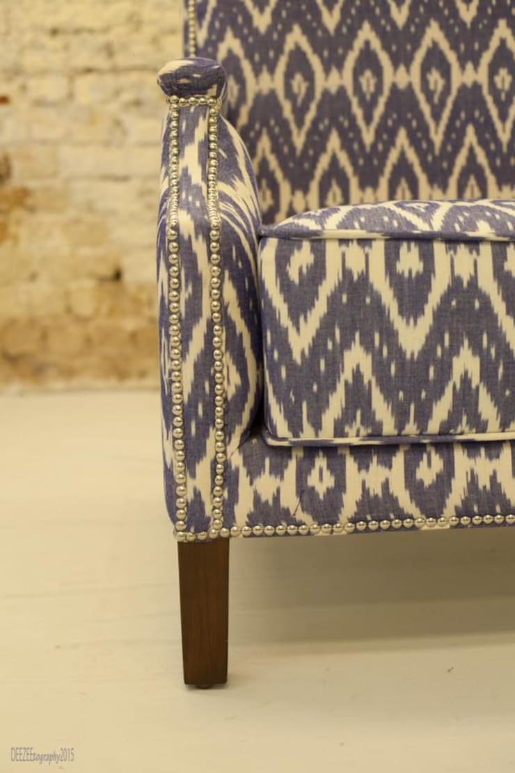 Ikat collection:  Artwork by INHABIT