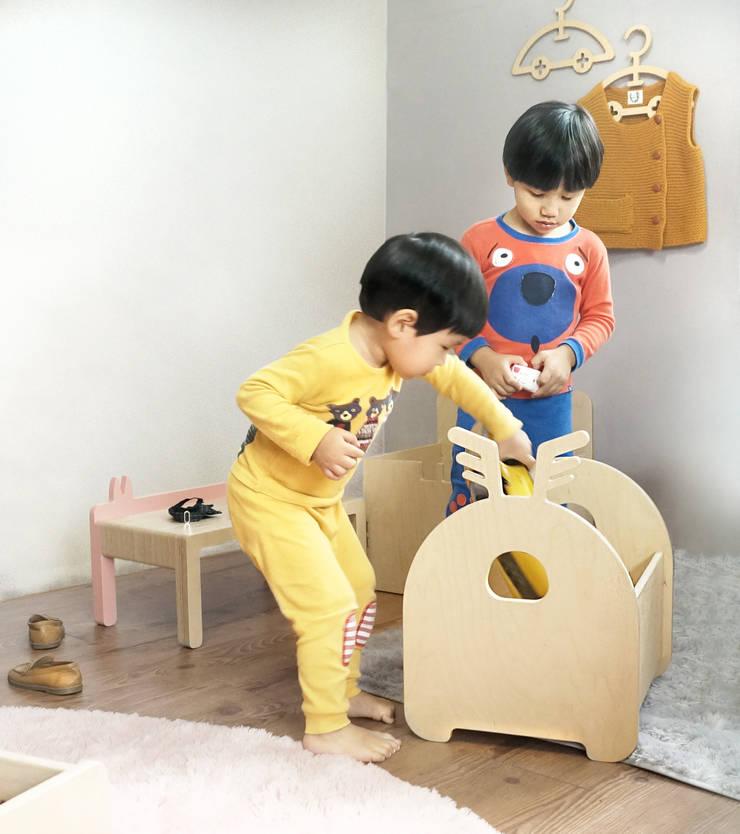 grandcerf 그랑 쎄르: Banana Yolk의  아이 방