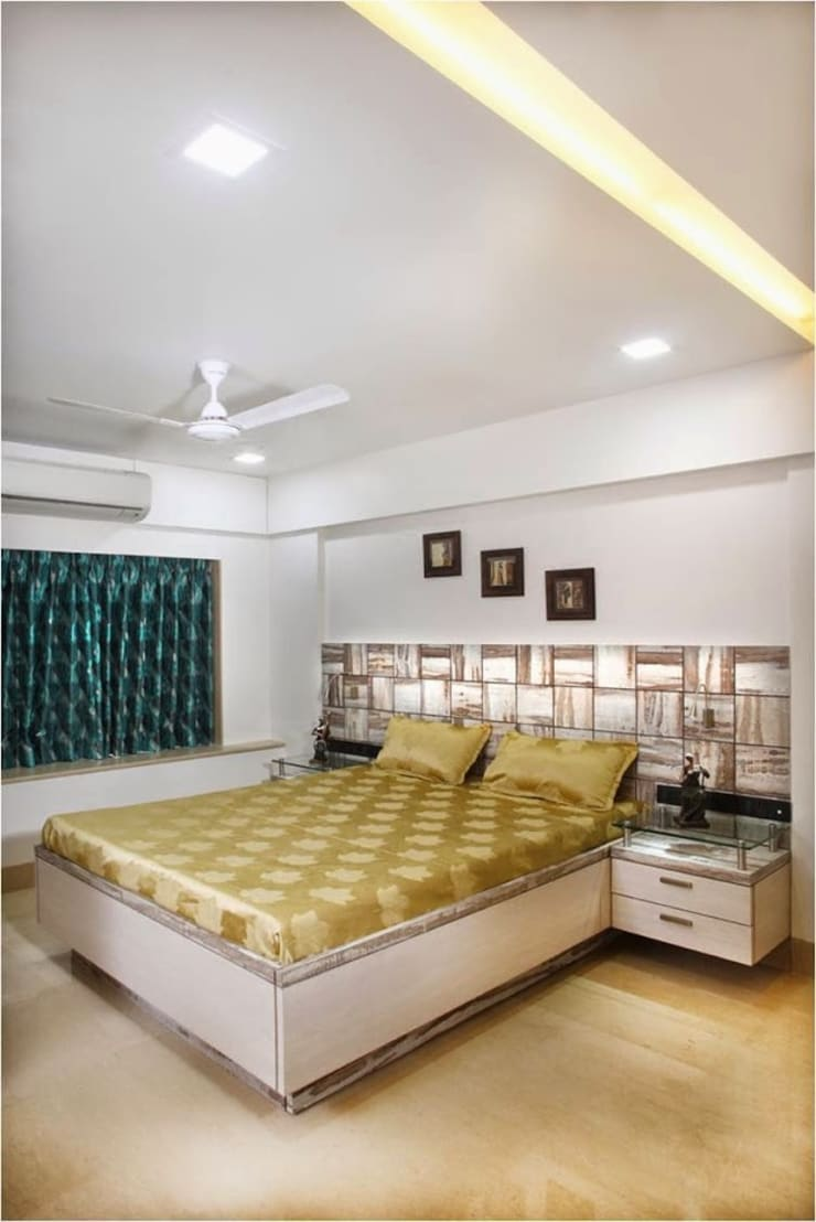 Pali Hill, Bandra:  Bedroom by suneil