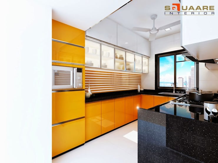 Malad: modern Kitchen by suneil