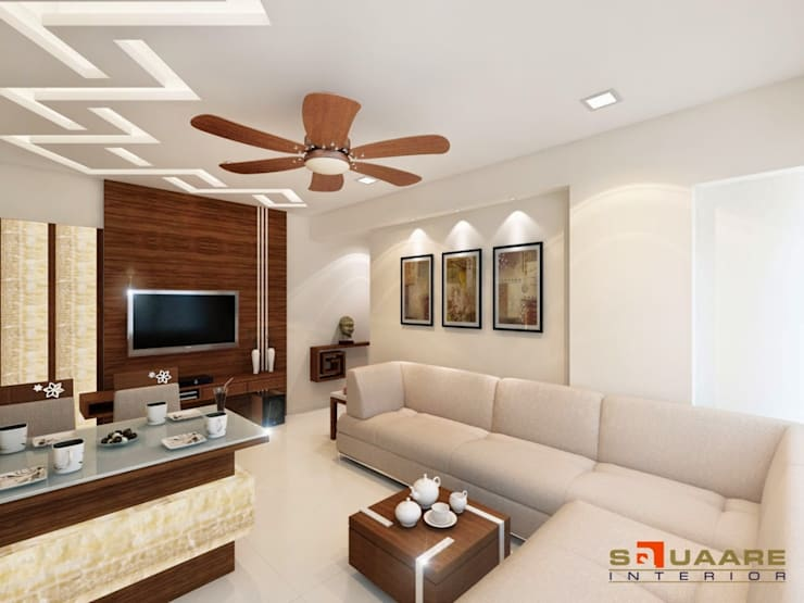 Malad:  Living room by suneil
