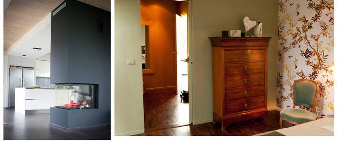 moderne Slaapkamer door RIVA Architectes