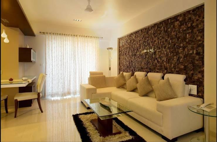 LIVING ROOM Designs:  Living room by Artek-Architects & Interior Designers