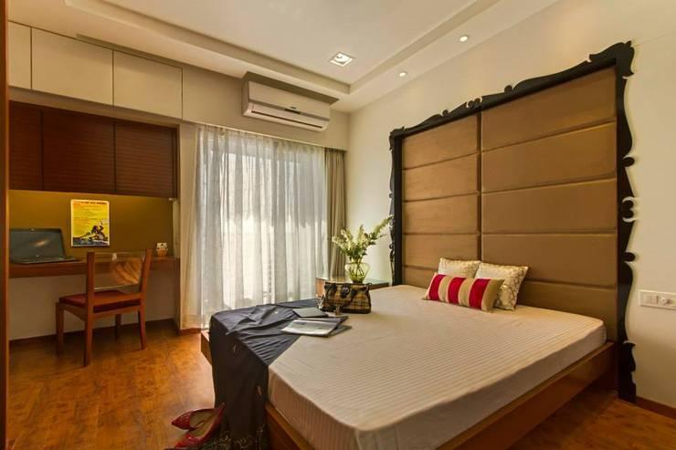 Abhiskhek's Appartment: modern Bedroom by P & D Associates