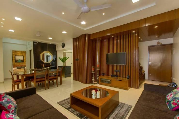 P & D Associates: modern tarz Oturma Odası