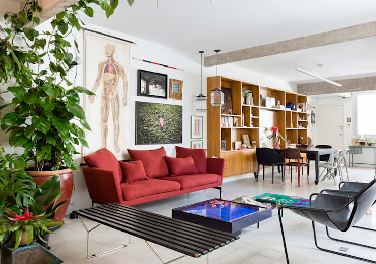Living room by RSRG Arquitetos