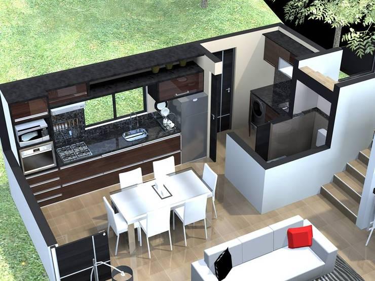 Vivienda / House Estancia Vieja:  de estilo  por uparquitectura