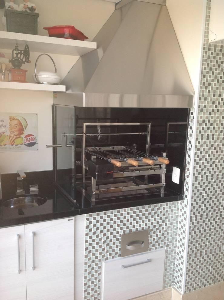 Marcia Arcaro Design Ltda ME:  tarz Yemek Odası, Modern