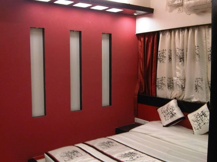 Residence in Jayanagar: modern Bedroom by Design Cafe