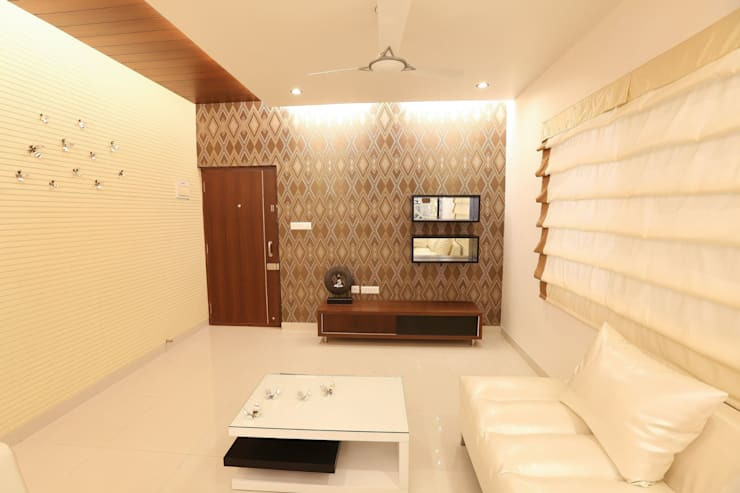 Model Flat:  Living room by Design Cafe