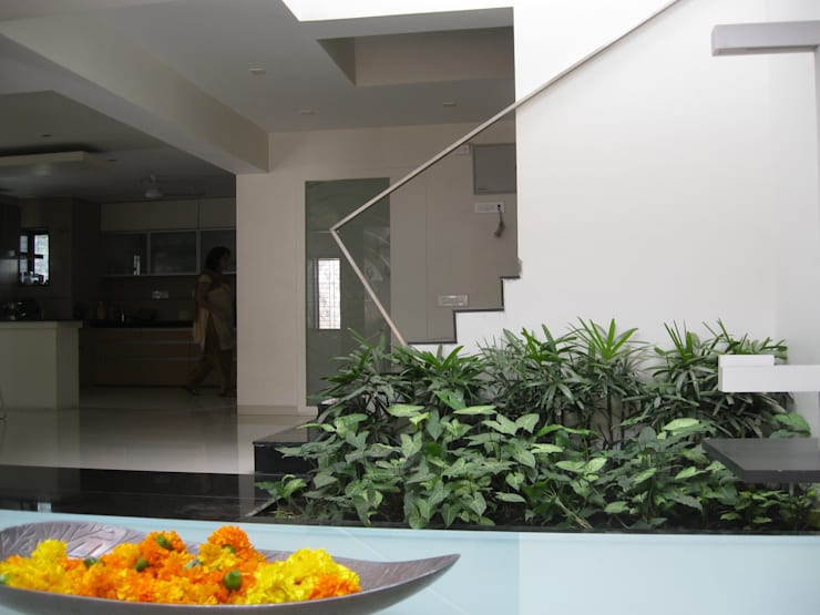 The  Silence ………  language of architecture:  Garden by ar.dhananjay pund architects & designers