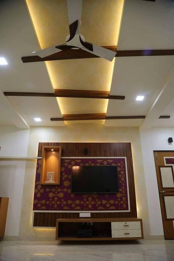 Interiors:  Living room by Livin interiors