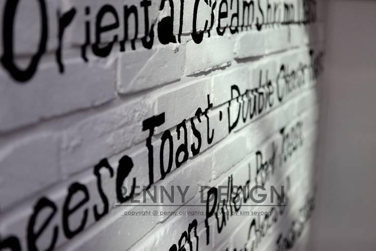 TOYA TOYA: penny design의  상업 공간