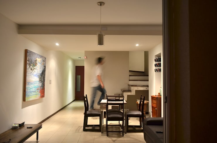 Uspallata 460: Comedores de estilo  por trama arquitectura